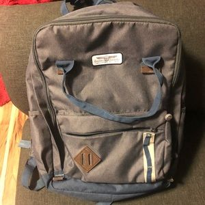 American Tourister gray backpack